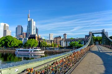Bridge Eiserner Steg in Frankfurt