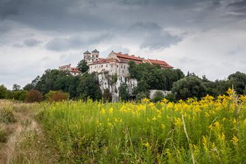 Historic abbey in Tynec near Cracow (Krakow) in Poland.