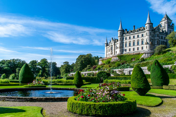 Wall Murals Northern Europe Dunrobin Castle