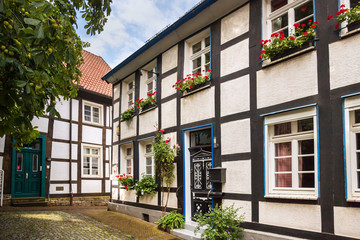 historic town unna in germany Fotomurales