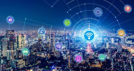 ワイヤレスネットワーク 5G モバイル通信