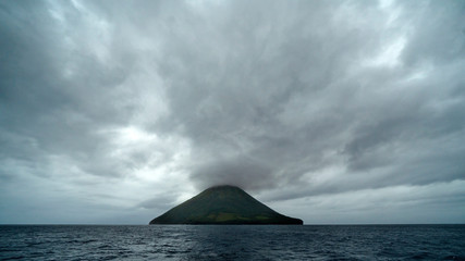 Volcanic Island of Ha'apai Archipelago of Tonga in Pacific