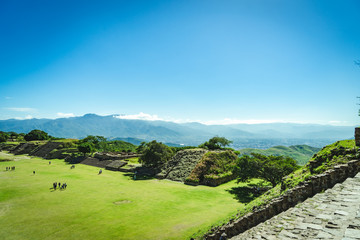 "Zapotec Ruin ""Monte Alban"" in Oaxaca, Mexico"