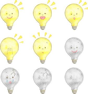 電球 セット素材