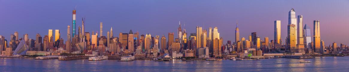 Fototapete - New York City Manhattan midtown buildings skyline