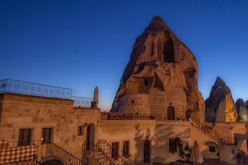 トルコ・カッパドキアの洞窟ホテル