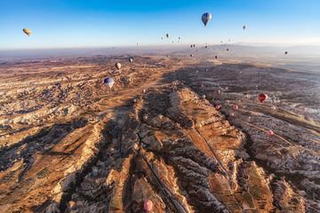 トルコ・カッパドキアの気球 4