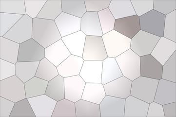 Grey mosaic patern background