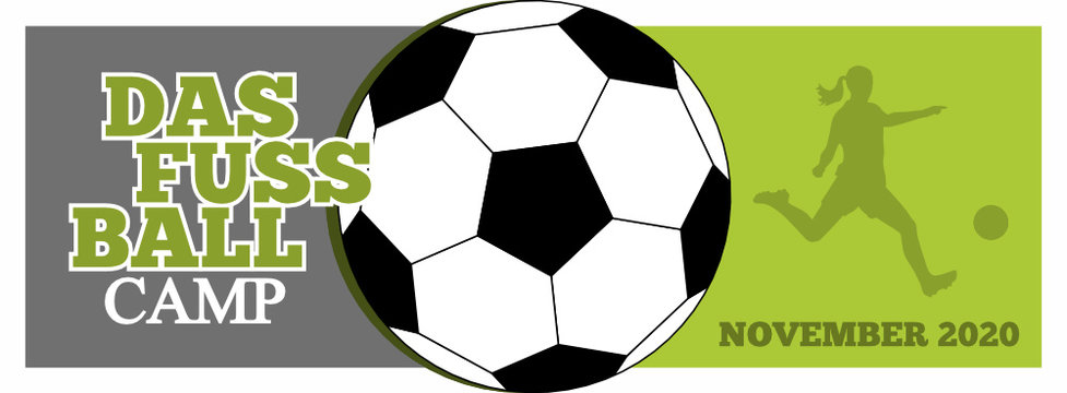 Fußballcamp Flyer