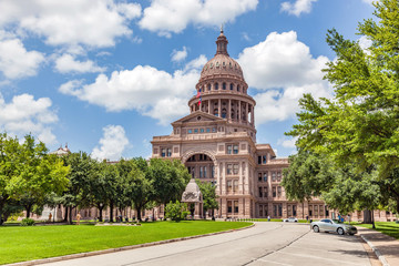 Photo sur cadre textile Texas Texas State Capitol building in Austin, Texas, the USA.