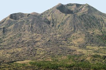 Krater vom Vulkan Gunung Batur auf der Insel Bali in Indonesien