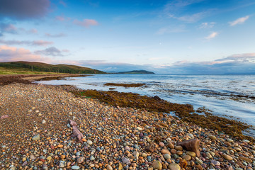 Wall Mural - Machrie Bay on the Isle of Arran in Scotland