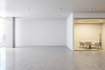 Huge spacious office interior