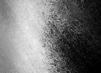 Old black background with diagonal grunge texture design and gradient gray to black color Wall mural