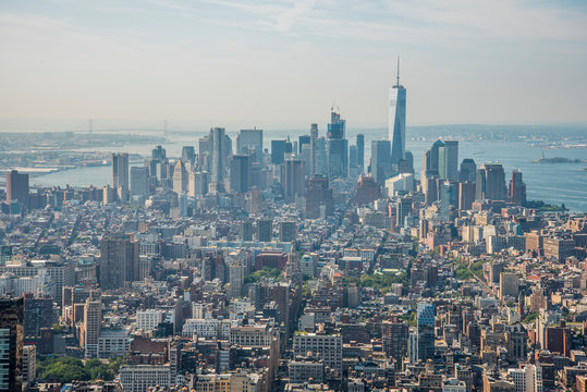 Panoramic View of the Empire State Building 04