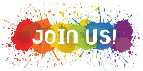 Paint Splat - Join Us