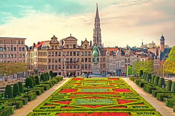 Papiers peints Bruxelles Monts des Arts in Brussels, Belgium