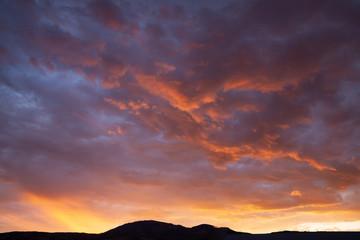 Brilliant Rocky Mountain Sunrise