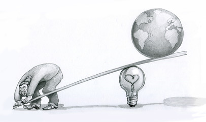 Give me an idea I'll lift up the world bn