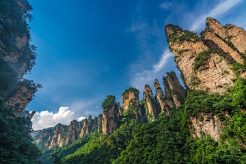 The Gathering of Heavenly Soldiers scenic rock formations