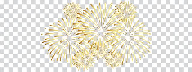 Feuerwerk Fototapete