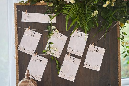 Decor wedding celebration.