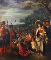 Frans Francken way: preaches of St. John the Baptist