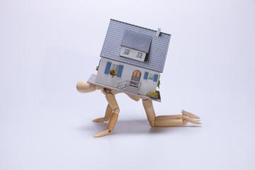 Eine Hypothek aufnehmen