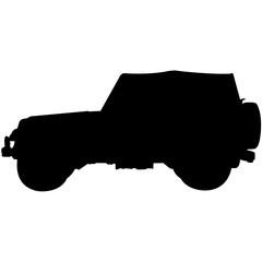 Jeep Silhouette Vector
