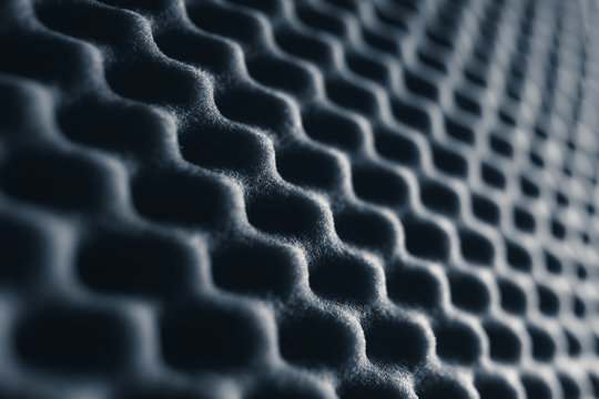 acoustic foam abstract grey background