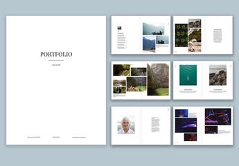 Minimal Portfolio Layout