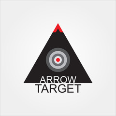 Success arrow logo, icon template for business office etc, eps 10 - vector