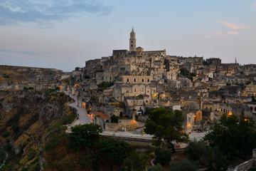 Sassi di Matera (UNESCO world heritage site), Matera, Basilicata, Italy