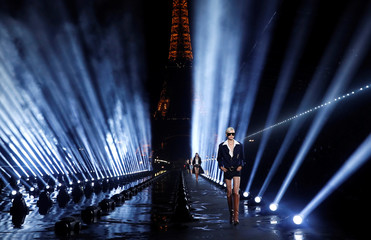 Saint Laurent Spring/Summer 2020 women's ready-to-wear collection show at Paris Fashion Week