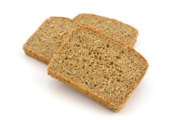 kromki chleba razowego