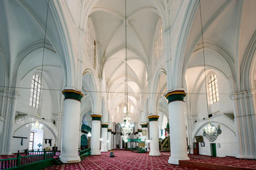 interior of mosque Selimiye Camii