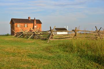 Farm house at Manassas, Virginia.