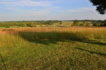 The view from Matthews Hill, Manassas, Virginia.