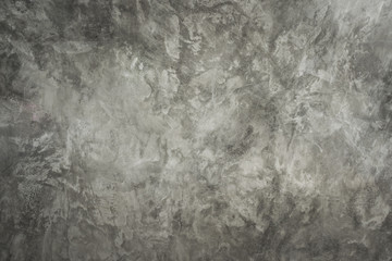 Gray loft cement wall background with empty and well use montage display products or text present on free space