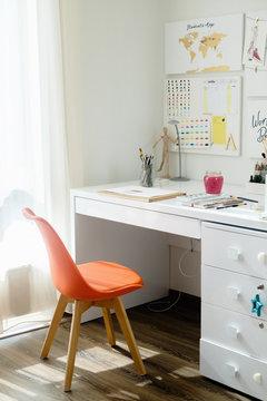 Illustrator's workplace