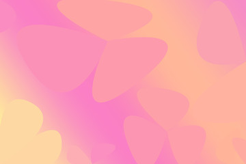 Pink and orange soft pastel color gradient abstract free style. Graphic background. abstract free style background.