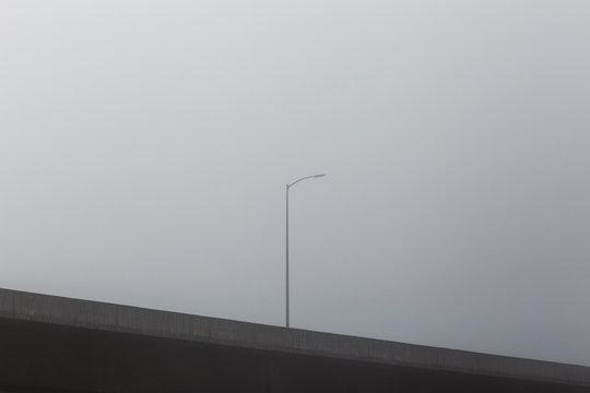 Street Light in Fog