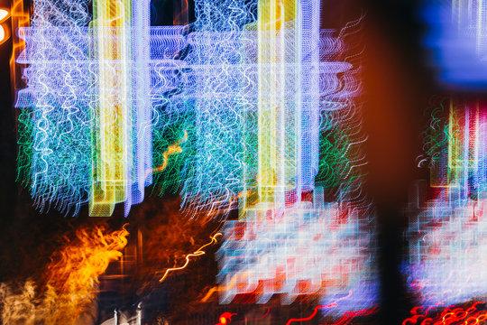 Blurred motion lights