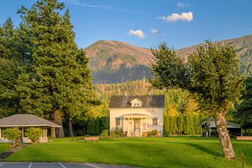 Museum and park in Stevenson Oregon.