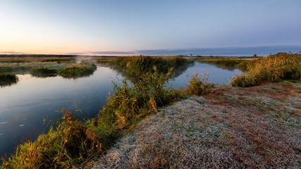 Jesień nad Narwią, Narwiański Park Narodowy