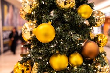 Weihnachtsbaum geschmückt