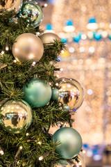 Weihnachten Christbaum Christbaumkugeln