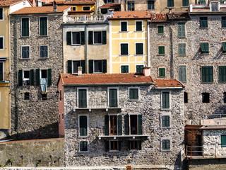 Tellaro Lerici - Cinque Terre: typical centuries-old seaside village on the rugged Italian Riviera coastline