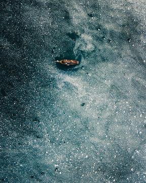 Sailing through ice
