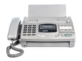 Old office fax machine